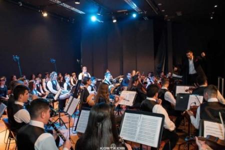 Εντυπωσίασε η Συμφωνική Ορχήστρα Νέων Ελλάδος στα Τρίκαλα
